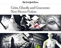"""""""Grim, Ghastly and Gruesome: New Horror Fiction"""