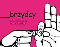 Brzydcy exhibition – visual identity