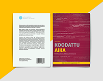 Koodattu Aika : Thesis Cover & Illustration