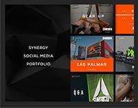SYNERGY - Social Media Portfolio