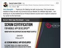 Scrum Institute Official Scrum Certifications
