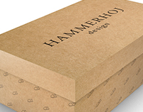 Packaging para Hammerhoj Design shoes