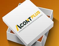 AcontPlus - Logo design / Branding