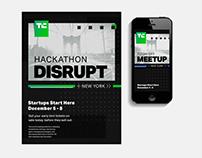 TechCrunch Branding Logo & Branding Redesign
