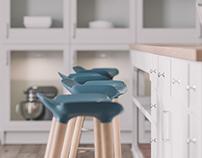 White Kitchen CGI