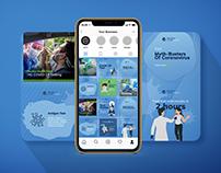 RocDoc Health Check Instagram Puzzle Grid