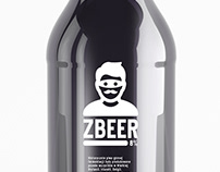 zBEER label in mono