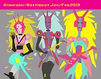 Feb2019 Tranz/Glamrock-goddess-battleband-bots