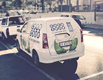 Vehicle Branding - CocoZone