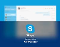 Redesign Skype - Fluent Design