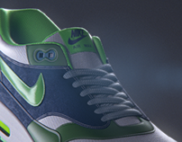 Nike Air Max - Packshot Tutorial