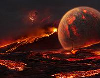 Planet lava