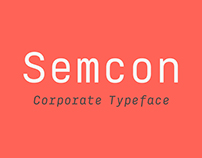 Semcon Corporate Typeface