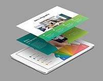 Powerpoint Slide Mockups - Device Presentation Mock up