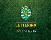 Sporting Clube de Portugal / Lettering