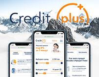 Credit Plus- Website Design