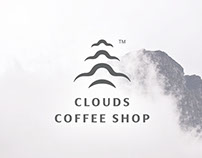 Clouds Coffee Shop Branding