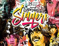 """Superstar Singers"" illustrations"