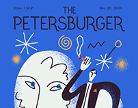The Petersburger Magazine - cover concept. Part II.