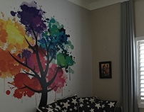Wallpaper to dress the walls and enhance your home