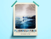 Flashbulb Fires gig poster