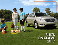 Buick Enclave 2017 - Digital Campaign and production