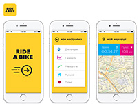 Ride A Bike - Mobile APP