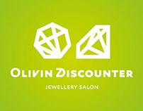 «Оливин дискаунтер»: логотип / logotype, identity