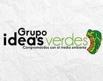Creación imagen corporativa Grupo ideas verdes