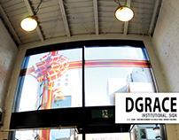Sign Design for Dgrace Store - Hamamatsu - JP
