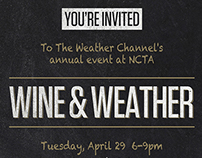 The Weather Channel - Wine & Weather Event
