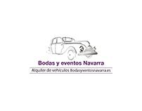 Identidad visual Bodas y eventos Navarra