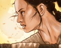 REY - Star Wars FanArt