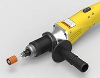 Dewalt Die Grinder DW887 - Ergonomic Optimization