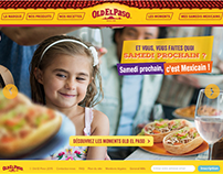 Website redesign Old El Paso