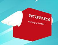 Graphic Social Media - aramex