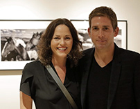 Hollywood stars celebrate star photographer M. Baumann