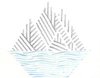 Island Family Tattoo Illustration