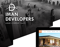 Iman Developers - Responsive Website