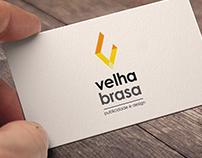 Velha Brasa // Logo