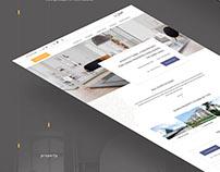 Aqarati Real Estate Website