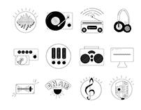 Radio Activity - Icons