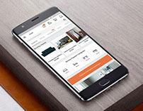 Urban Ladder- Mobile App