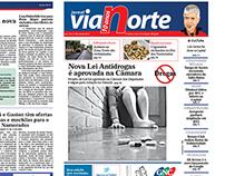 Diagramação: Jornal Via Norte