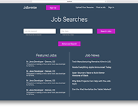 Jobverse mock-up site
