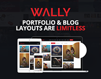 Wally - Portfolio/Blog Multi-Purpose WordPress Theme