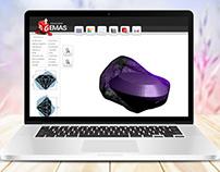 Visualizador 3D Gemas