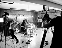 LIVE IN STUDIO - Will Wood and the Tapeworms