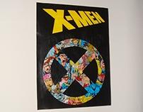 X-MEN collage