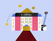 Le Casino - MTV ident (motion design)